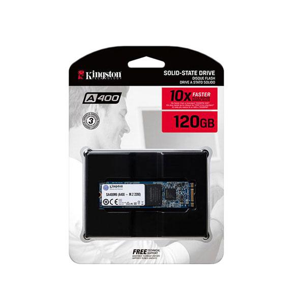 Ổ cứng SSD 120G Kingston A400 M.2 Sata 6Gb/s TLC (SA400M8/120G)
